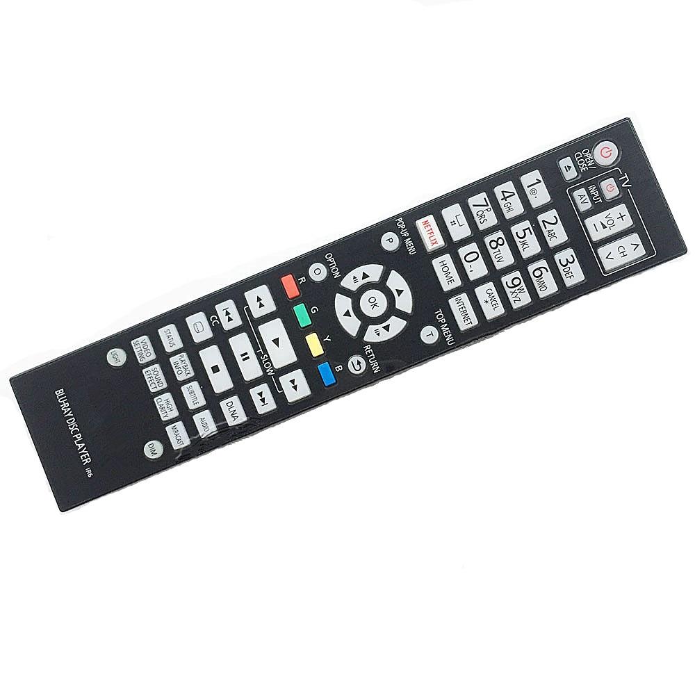 New remote control for Panasonic Blu-ray DVD player remote controller N2QAYA000131 DMPUB900 new replacement remote control for samsung blu ray dvd disc bd player 0070d fernbedienung