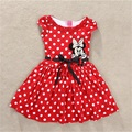 2016 Summer Dresses For Girls, new minnie Baby Girls Dress cute Princess Sofia Dress cartoon mickey Vestidos Infantis Elsa Dress