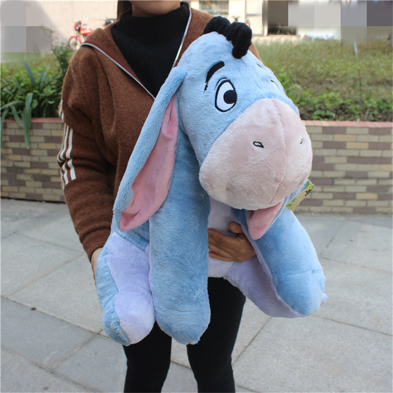 цены 1pcs big size Eeyore donkey stuffed gift toys tigger boys girl's brithday
