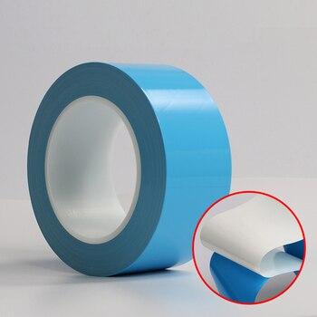 e8c2adaa57bd Alta calidad 10mm   25 m PET cinta de doble cara película roja fuerte  adhesivo transparente ultrafino para teléfono móvil