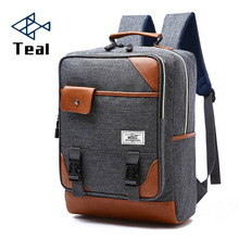 цены на 2017 Men Backpack Youth Fashion Teenage Backpacks For Teen Boys School Backpack Male Travel Bags famous brands Boy Laptop Bag  в интернет-магазинах