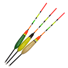 1 pcs 2016 New Arrival Size:4G 5G 6G Fishing Float Bobber Boia Fishing Buoy Drift Tube 3 Color for you Choose