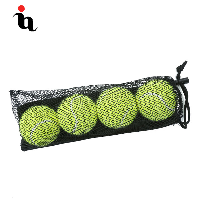 IANONI 4 Pack Tennis Balls Training Yellow Tennis Balls For Lessons Practice,Playing With Pets Tennis Accessories Carrying Bag