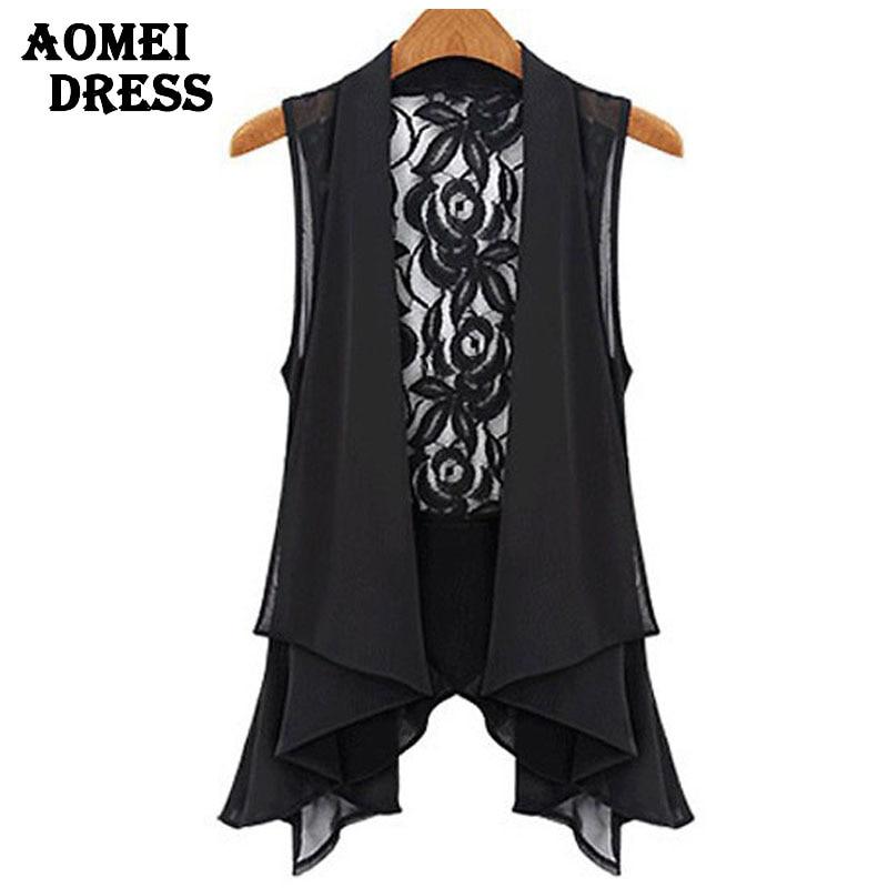 Plus Size Black Lace Blouse 19