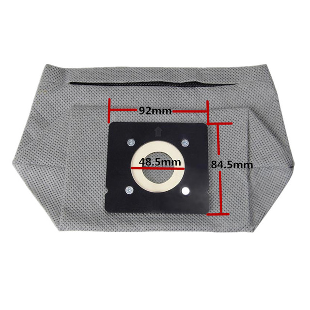 2 ชิ้น/ล็อตเครื่องดูดฝุ่นถุงผ้าล้างทำความสะอาดได้สำหรับ Tefal TW5243RA,Rowenta ZR0032 ZR0039 RO2052 RO2033 RO2113
