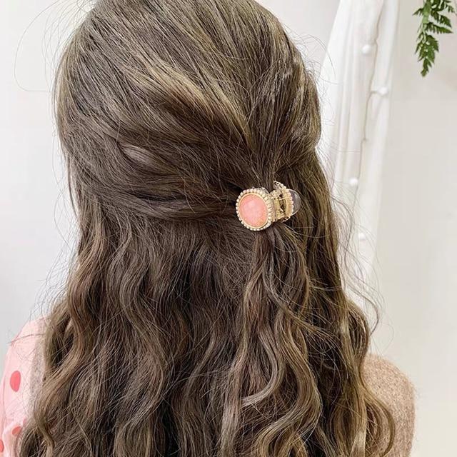 New Woman Crystal Hair Claw Clip Girls Hairpins Chic Hair Crab Women Hair Accessories Girls Hairgrip Barrettes Headwear