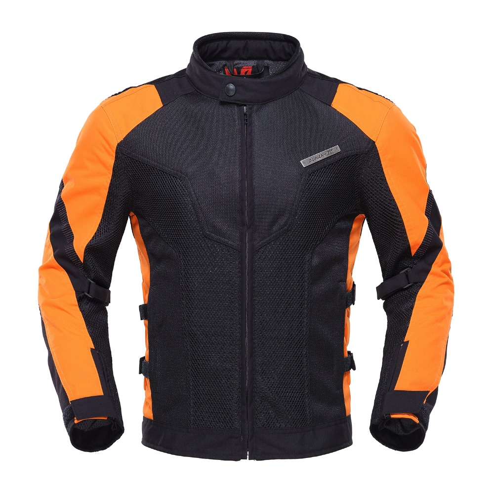 motorcycle racing clothing summer duhan jacket jackets motorbike protective motocross pads suits protection breathable ventilation bike netting d183 race banggood