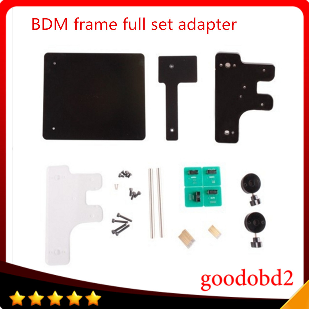 High quality BDM FRAME With Full Adapters For Fgtech/BDM100 Working Together Fits For Original FGTECH B Version ktag ECU tools|bdm frame|ecu toolbdm100 frame - title=
