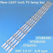 """8 adet/takım LED arka işık şerit bar için 47 inç 47LB6300 innotek LC470DUH DRT 3.0 47 """" A/B tipi 6916L 1715A 1716A"""