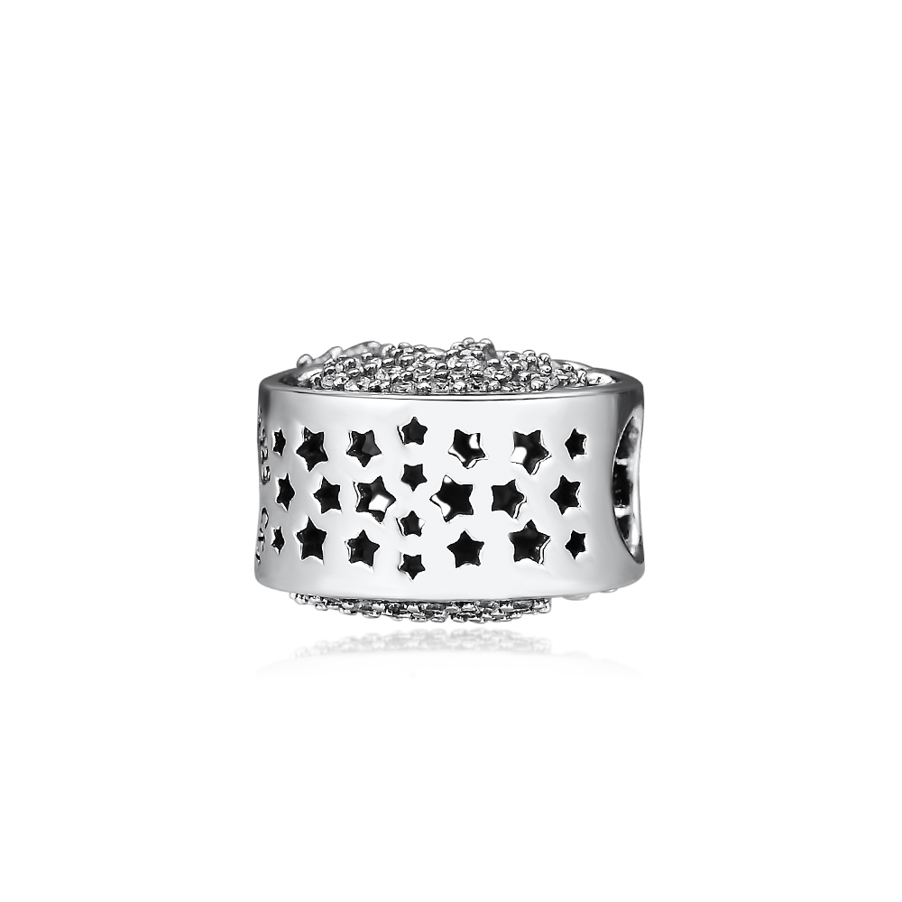 Fits Pandora Bracelets Beads Original Genuine 925 Sterling Silver Sparkling Sunflower Fashion Charms Beads for Jewelry Making in Beads from Jewelry Accessories