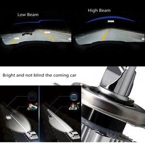 Image 5 - Передние фары Visture для автомобиля, светодиодные фары для авто, 1 пара, лампы H4 H7 H11 H8 HB4 H1 H3 HB3, фары ближнего и дальнего света 6500К, 12 В, передние фары С6