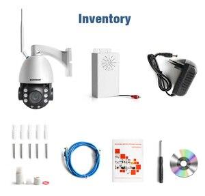 Image 5 - HD 2MP Draadloze PTZ Dome IP Cam WIFI 10X/20X Optische Zoom Outdoor Beveiliging Video CCTV Cam Twee Manier audio Wit Licht 80M IR