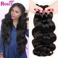 Rosa Hair Products Malaysian Body Wave 4 Bundles Malaysian Virgin Hair Body Wave 8-26 inch 100g/pcs Malaysian Hair Weave Bundles
