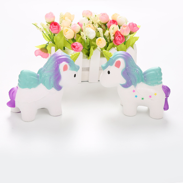 Squishy Unicorn Slow Rising Jumbo Ice Cream Cake Strawberry Panda Food Marshmallow Cat Squeeze Toy Fun Novelty Antistress Gifts
