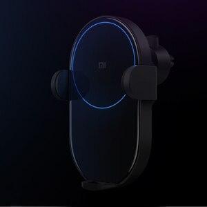 Image 5 - Ban Đầu Không Dây Xiaomi Sạc Ô Tô Cảm Biến Hồng Ngoại Thông Minh Tề Sạc Nhanh Mi Giá Đỡ Điện Thoại Ô Tô WCJ02ZM 20W Max iPhone