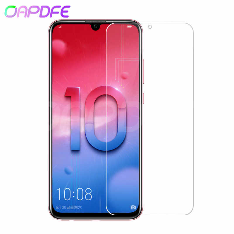 9H Protective Glass on the For Huawei Honor 10 9 8 Lite Tempered Screen Protector Glass For Honor 8X V10 V20 V9 Play Film Case