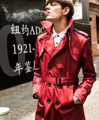 Popular Mens Red Pea Coat-Buy Cheap Mens Red Pea Coat lots from ...