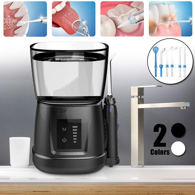 V700Plus Портативный Ирригатор для полости рта бытовая электрическая стиральная подростков машины гигиены полости рта зубной воды нитью