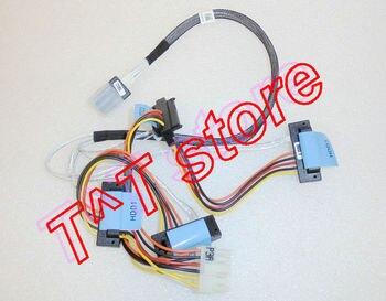 Original R310 R415 H200 H700 RAID CABLE MINI SAS TO 4 CABLED HDD X394K 0X394K test good free shipping