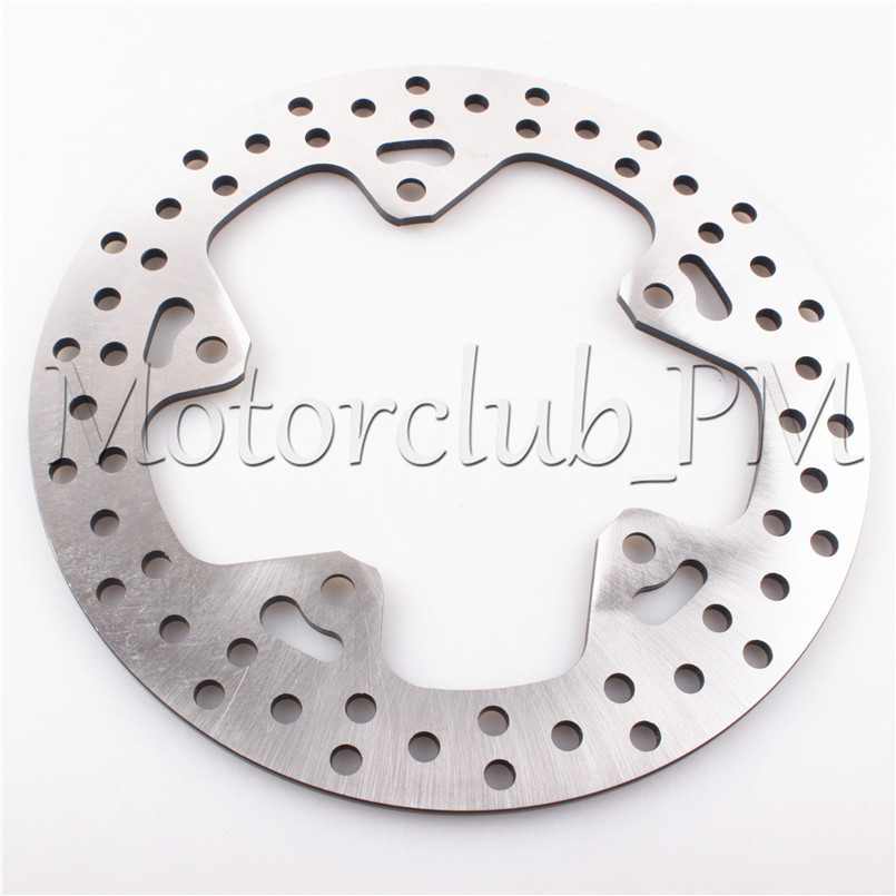 5 Holes Rear Brake Disc Rotor For BMW R 1200 GS 2013-2014 & R1200RT 2014-2015 & R 1200RS 2015 2016 Motorcycle Bicycle Pads 5 holes rear brake disc rotor for bmw r 1200 gs 2013 2014