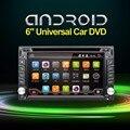 2 Автомобиля Гама радио В Тире Android 4.4-CPU Двойной GPS Navi DVD плеер Стерео Головного Устройства Видео BT Car PC CD WiFi 3 Г автомобильная стоянка