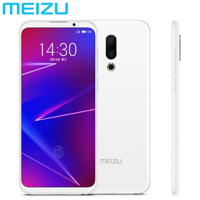 "Original Meizu 16 16X Global 64GB ROM Mobile Phone Snapdragon 710 Octa Core 6.0"" 2160x1080P Full Screen Dual Rear Camera 2"