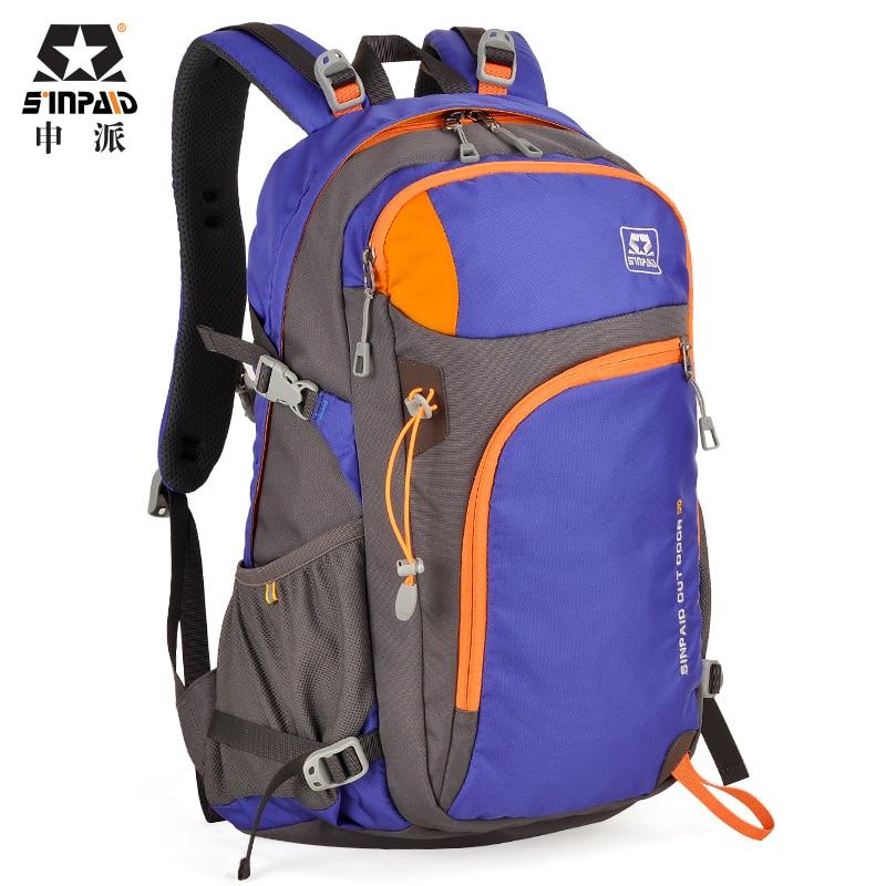 SINPAID moške velike zmogljivosti zunanji potovalni nahrbtnik lahka - Prtljaga in potovalne torbe