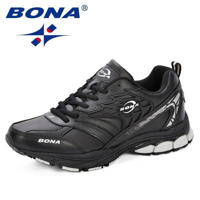 BONA Sneaker hommes 2018 nouveau Designer Atunmn respirant hommes chaussures confortable à la mode hommes chaussures pour adultes de mode hommes chaussures décontractées - 2