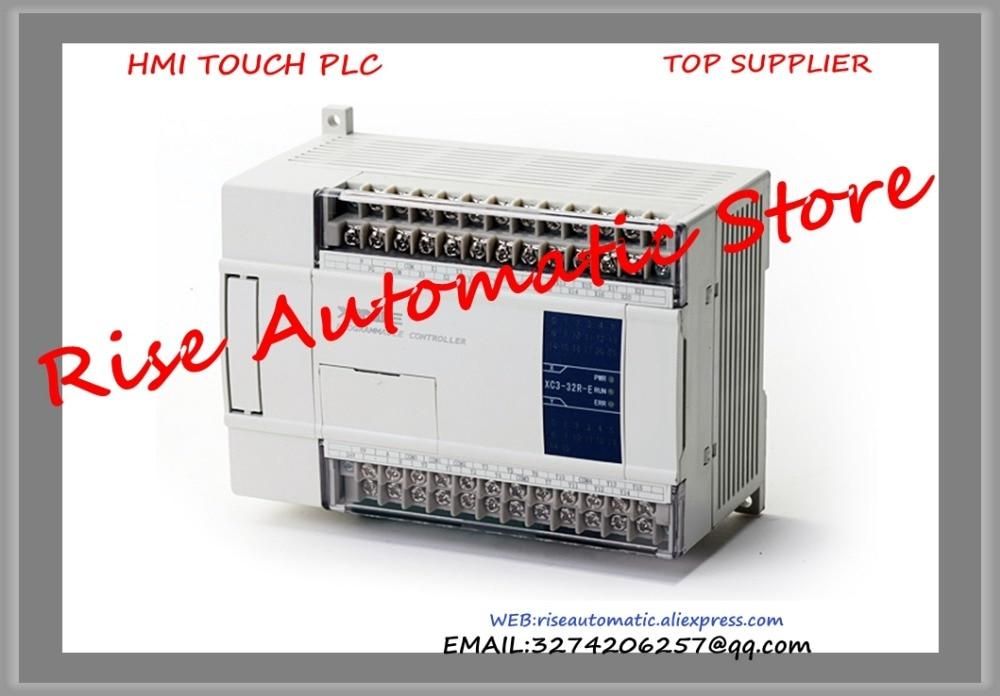 New Original Programmable Controller Module XC2-24T-E PLC AC220V DI 14 DO 10 Transistor new original programmable controller plc 8do transistor pnp output digital module dvp08sn11ts