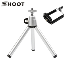 SHOOT Mini Tripod Phone Clip Stand Holder Adapter Mount for iPhone X 8 7 6 6