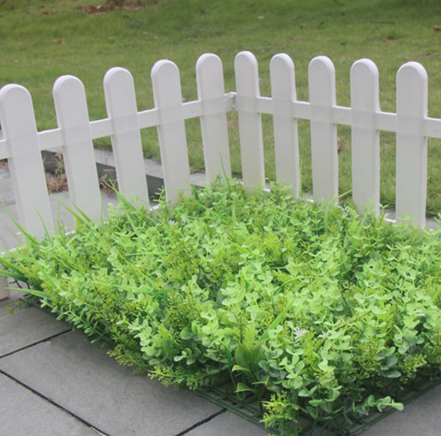 40*60cm Bushy Artificial Money tree Leaf Green Grass Lawn Carpet mat For Plants Wall Wedding Home Office Decoration