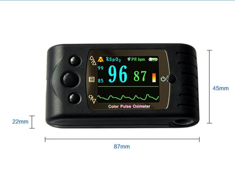 Pulse Oximeter Color LCD Portable Handheld Digital SPO2 Monitor Pulse Oximeter Fingertip oximetro with extra oxiemter probe color oled wrist fingertip pulse oximeter with software spo2 monitor