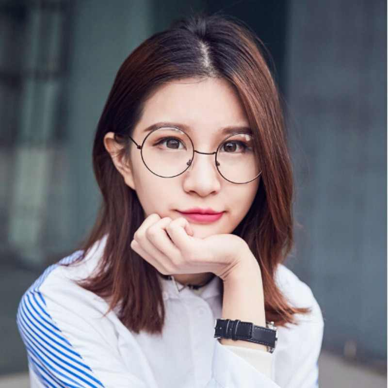 New Round Spectacle Reading Glasses For Harry Potter Metal Frame Glasses Plain Mirror Presbyopia Male Female Glass Frames
