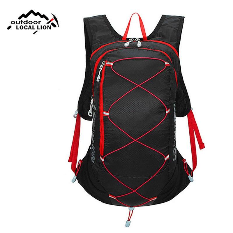 Profesionales Deportes Al Aire Libre Unisex de Nylon Suave Pequeñas Bolsas 15L B