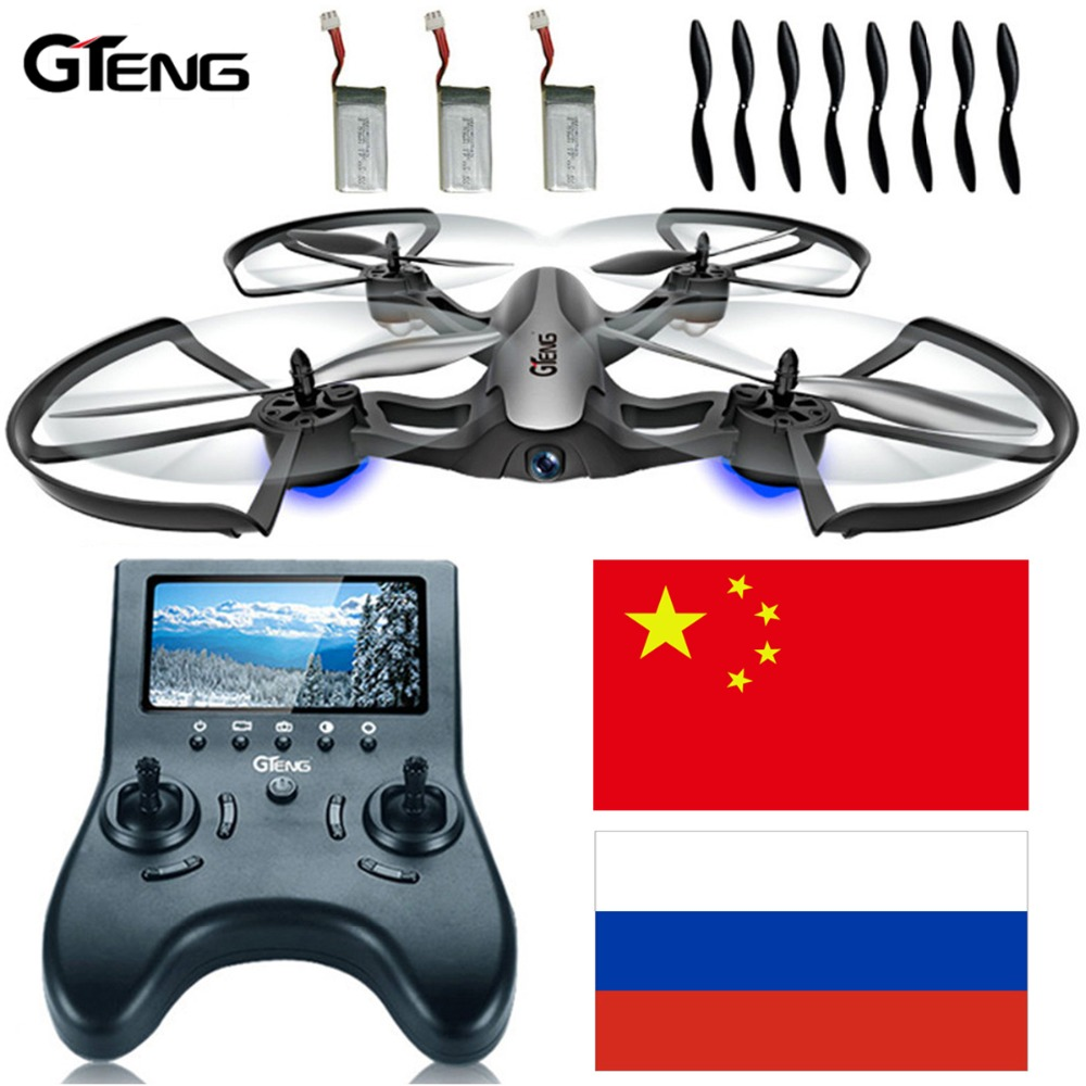 цена Gteng T905F FPV drone professional with camera hd rc helicopter quadrocopter dron multicopter quadcopter remote control copter