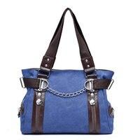 JINQIAOER Canvas Women Messenger Bags Louis Handbags Large Capacity Tote Shoulder Bag Casual Beach Ladies Crossbody
