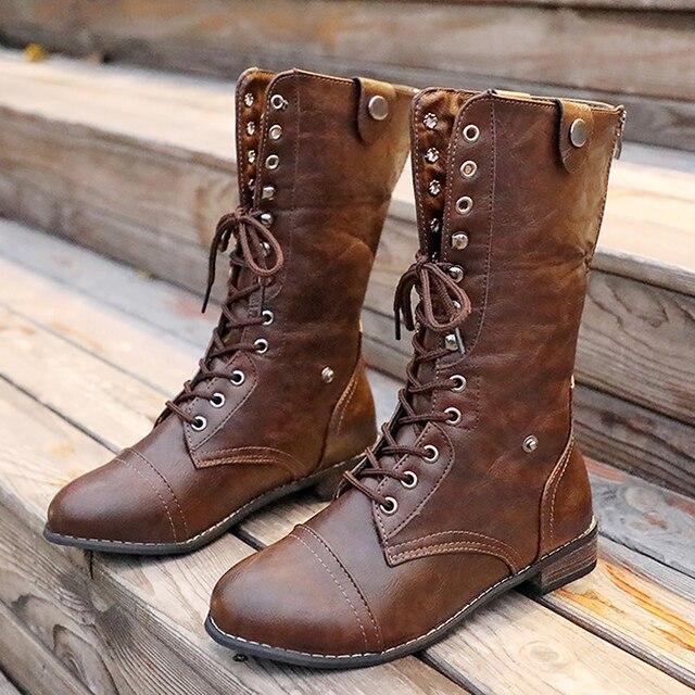 Kar botları kadın Su Geçirmez Büyük boy 9-12 için Klasik Kadın Kış çizmeler Deri Peluş sıcak ayakkabı Kama Kadın yarım çizmeler