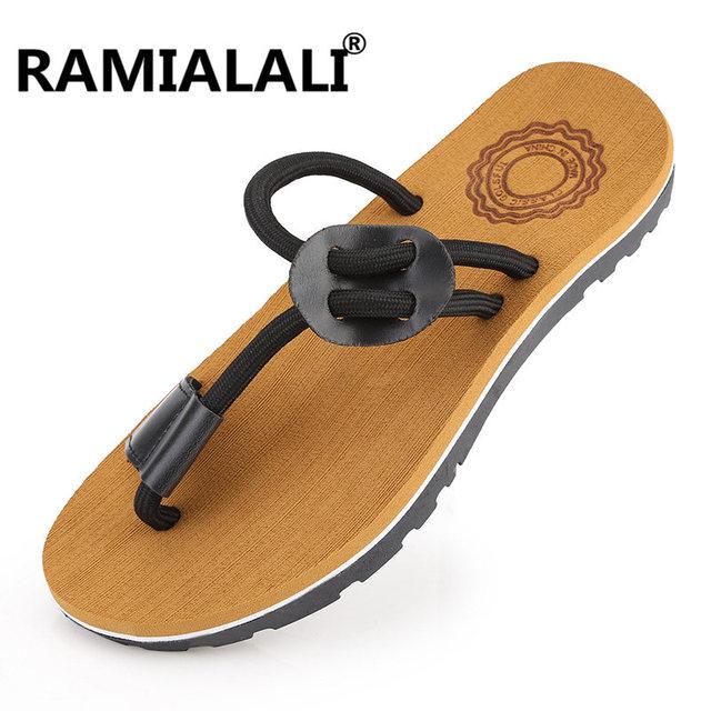 Ramialali Beach Slippers Hombre 2018 Summer Eva Eva Eva Massage Hombre Sale Rubber Hombre Sandal 56fc15