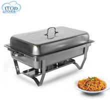 9L Chafing Dish Buffet Stoves Stainless Steel Rectangular Restaurant  Food Warmer Tray  Dinnerware Set for Buffet Party цена и фото