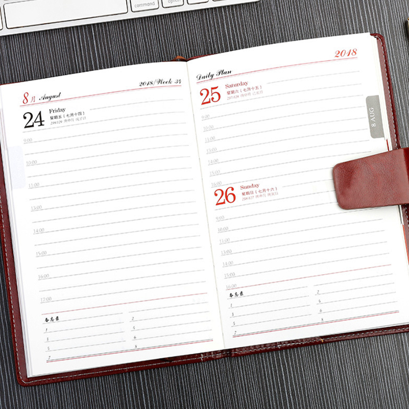 A5 Business Meeting Notepad Planner Organizer Agenda Filofax Men - meeting note pad
