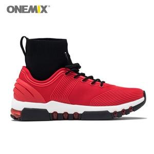 Image 5 - Yeni onemix kış koşu ayakkabıları erkekler için yürüyüş ayakkabısı açık ayakkabı kış ayakkabı koşu sneakers rahat koşu ayakkabıları