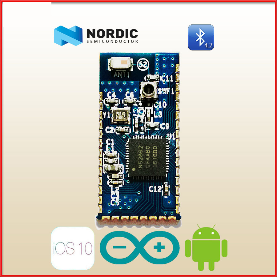 NRF52832 Core Module QFAA NRF52832 Bluetooth BLE Development Board рубашка поло love moschino рубашка поло