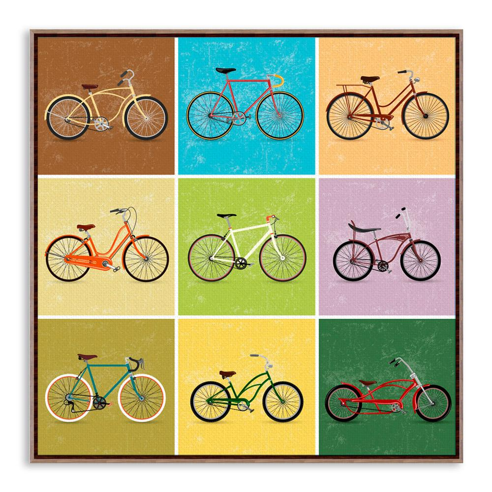 Pretty Bicycle Wall Decor Gallery - The Wall Art Decorations ...