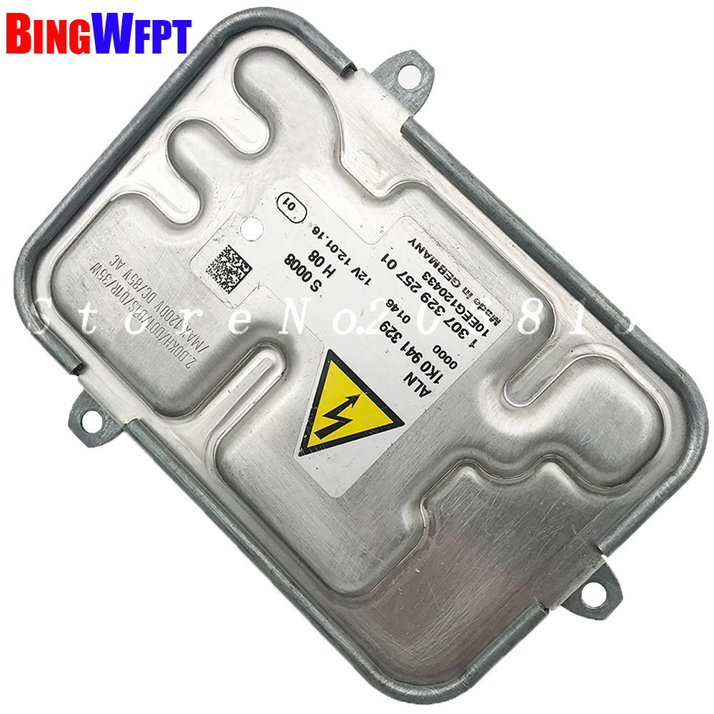 100 original OEM 1K0941329 10EEG1000 130732925700 Xenon HID Ballast Control Unit Module Kit For VW Touran