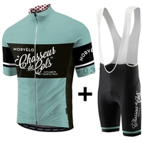 2018 Morvelo Breathable Summer Cycling Jersey Bib Shorts Set Bicycle Sport Wear Clothing Clothes Shirt Quick Dry ropa ciclismo