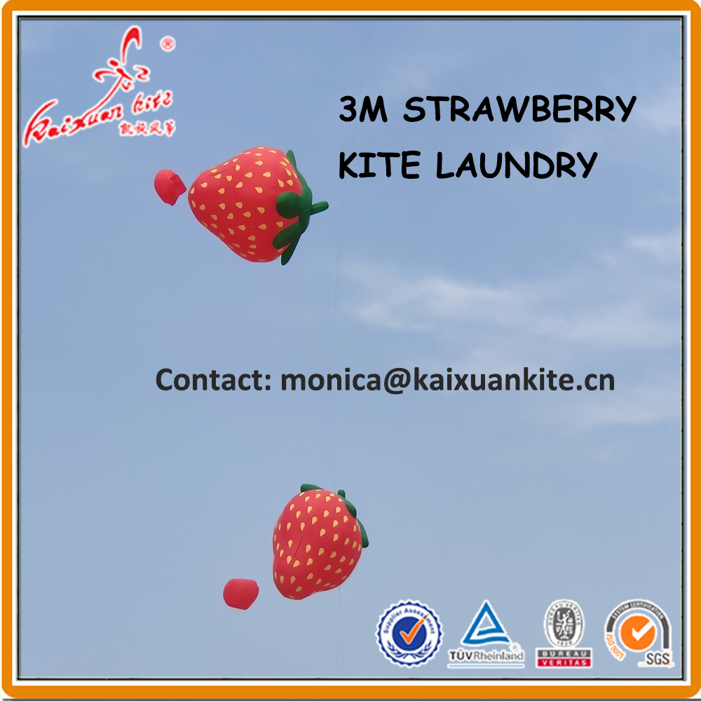 3m truskawka linia pralnia, nadmuchiwany latawiec pokazowy z Weifang fabryki latawca kaixuan w Latawce i akcesoria od Zabawki i hobby na  Grupa 1