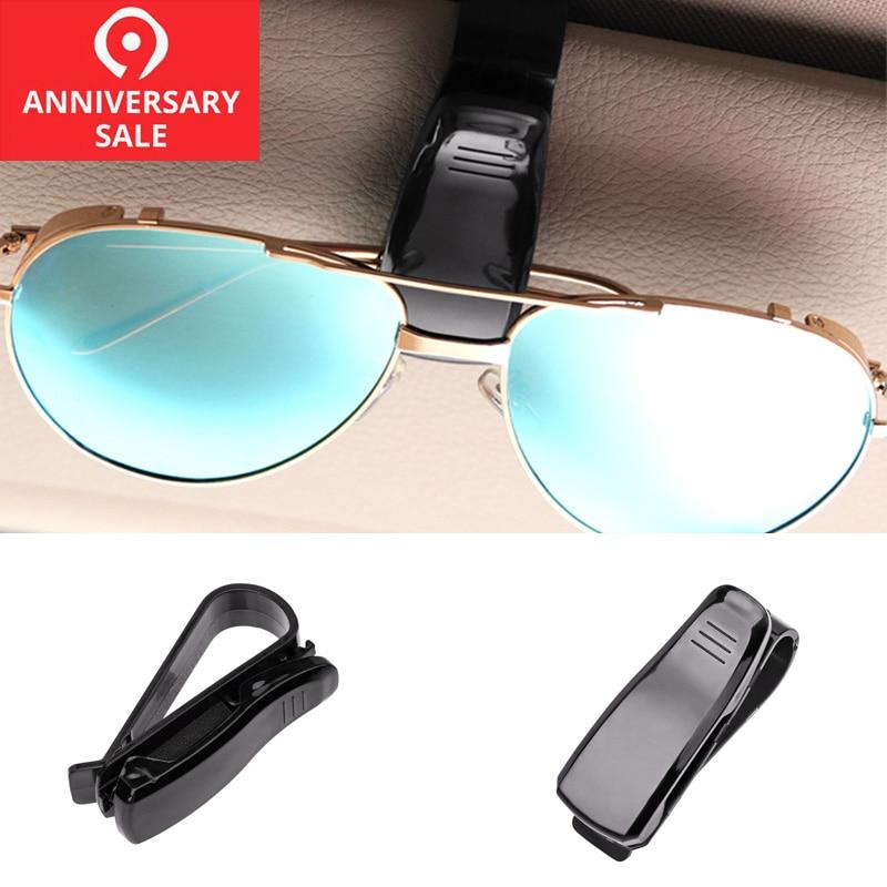 f55e5637a8ff Auto Accessories for Car Sun Visor Sunglasses Eyeglasses Glasses Holder Clip