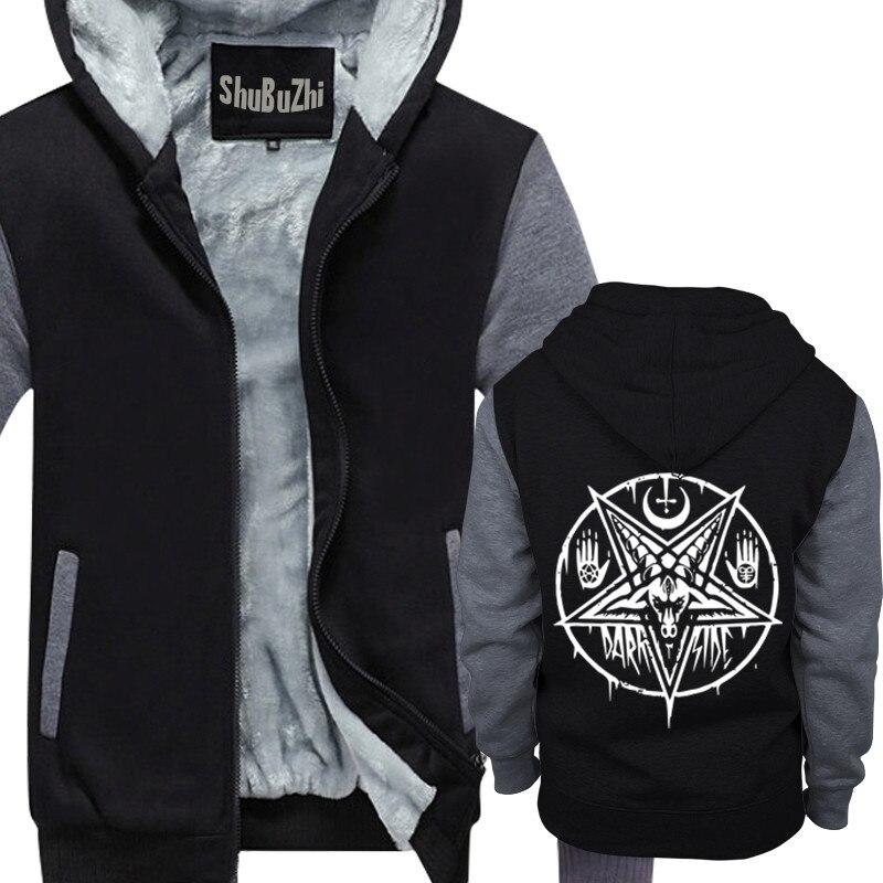 Wicca Pentagram Circle Logo Men/'s Hoodie Sweat Shirt Pick Size Small-5XL