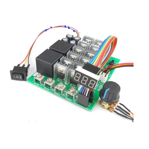 High Power MAX 5500W 100A DC brush motor speed controller regulator forwad/stop/reverse switch LED digital display 12V24V36V48V High Power MAX 5500W 100A DC brush motor speed controller regulator forwad/stop/reverse switch LED digital display 12V24V36V48V