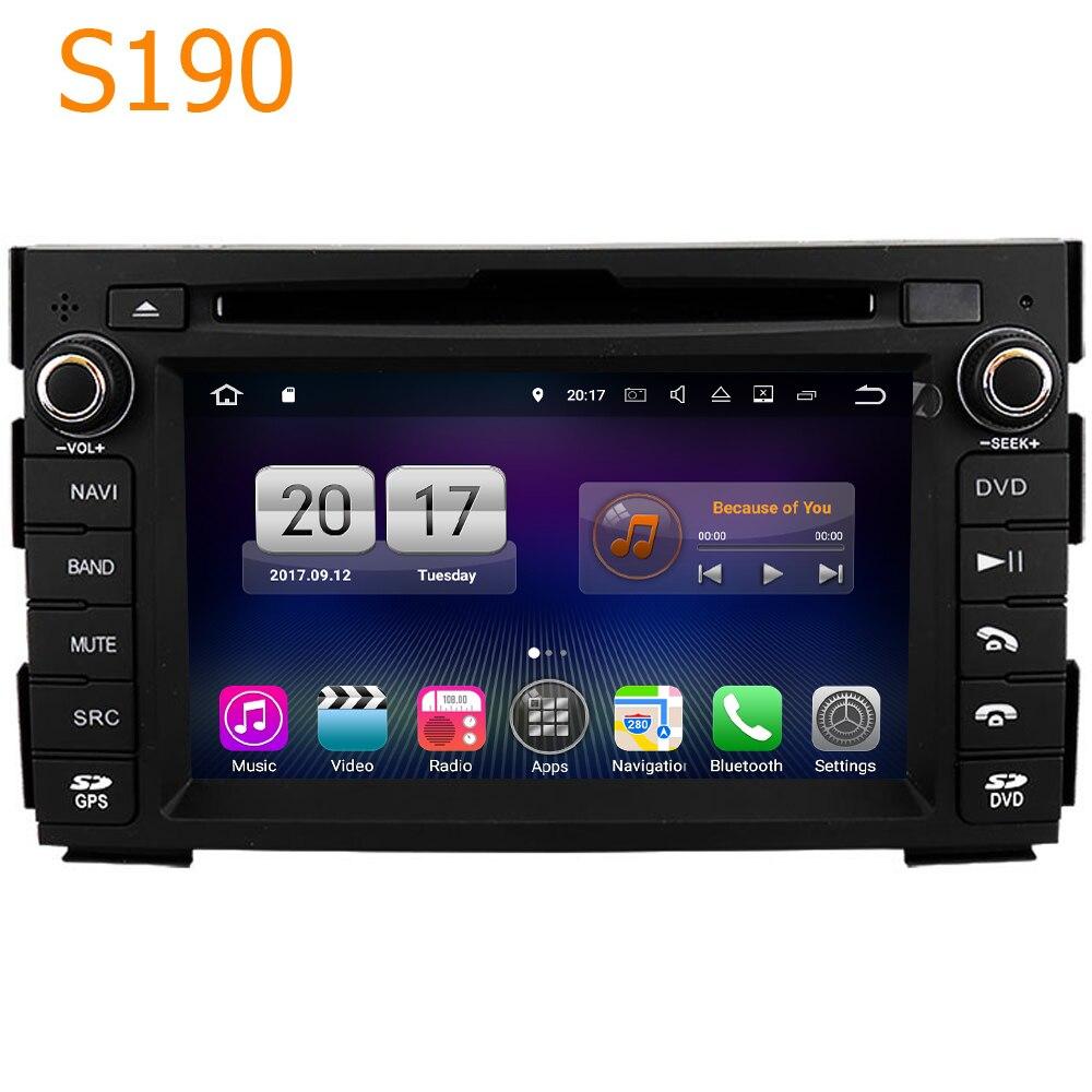 Route Top Winca S190 Android 7.1 Système PX3 4 Core CPU Voiture GPS Lecteur DVD Autoradio Sat Nav pour Kia Ceed Venga 2010-2012